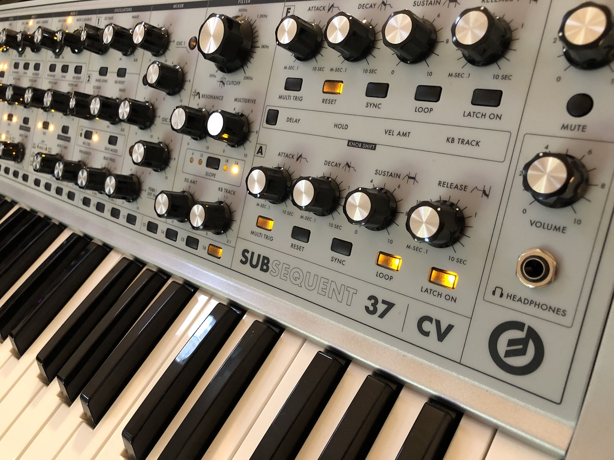 Moog Subsequent 37 CV Limited Edition 2